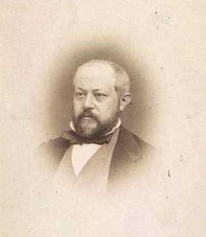 Heinrich Hansen (painter) - Heinrich Hansen; photograph by Georg Emil Hansen.