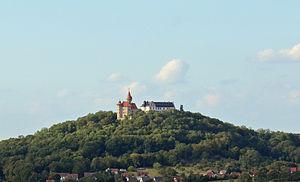 Bad Colberg-Heldburg - The fortress of Heldburg dominates the area