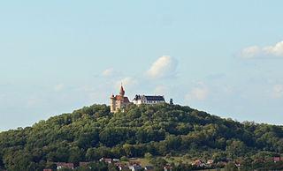 Bad Colberg-Heldburg part of Heldburg in Thuringia, Germany