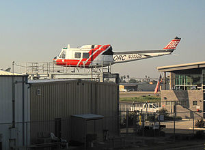 Orange County Fire Authority - Helicopter, Fullerton Municipal Airport