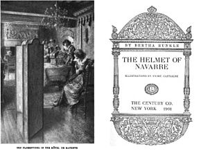 The Helmet of Navarre - Frontispiece and title page