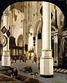 Hendrick Cornelisz. van Vliet - The Interior of The Nieuwe Kerk In Delft with the Tomb of William the Silent - WGA25269.jpg