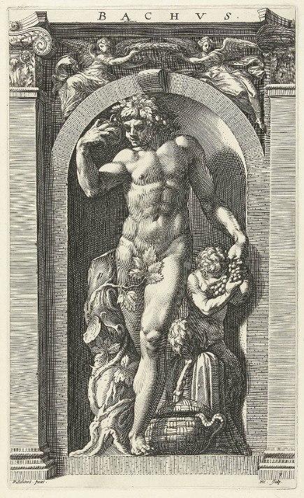 Hendrick Goltzius - Bacchus (Dionysus)