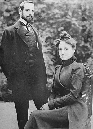 Henri Manguin - Henri and Jeanne Manguin, 1900