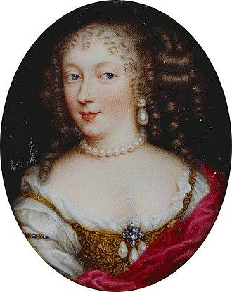 Jean Petitot - Queen Henrietta Maria (1660)