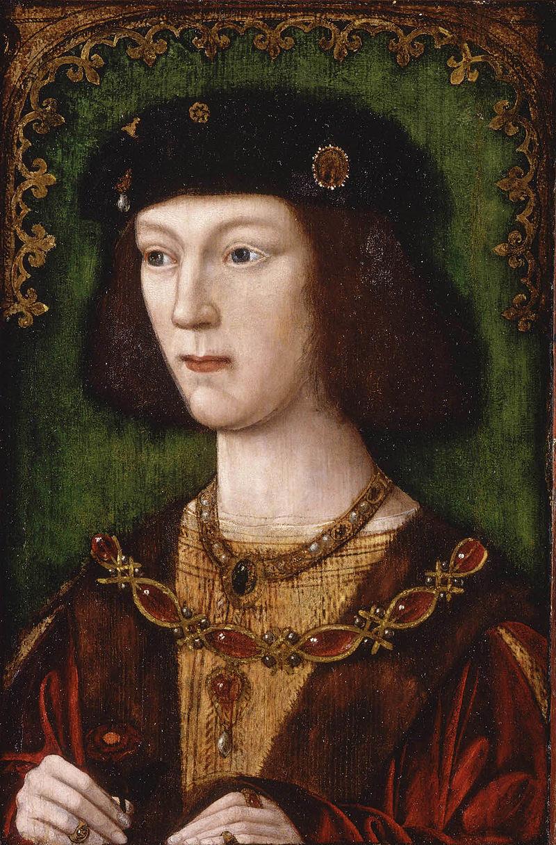 Юный Генрих VIII. Изображение из Википедии
