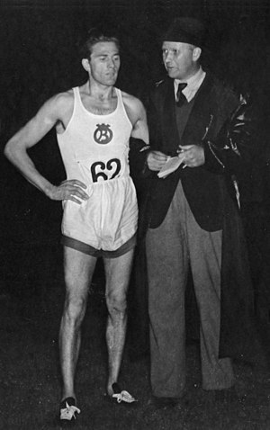 Henry Jonsson - Henry Jonsson (left) with Gösta Holmér