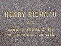 Henry Richard inscription, Tregaron - geograph.org.uk - 1062057.jpg