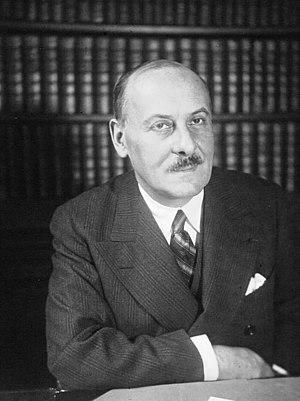 Henry de Jouvenel - Henri de Jouvenel, sénateur, ambassadeur de France à Rome (1933)