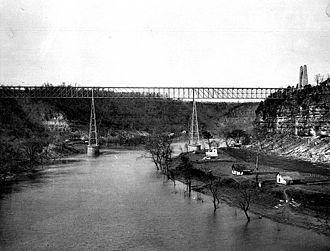 Queen and Crescent Route - The route included the High Bridge of Kentucky