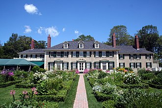 Robert Todd Lincoln - Robert Todd Lincoln's mansion Hildene in Manchester, Vermont