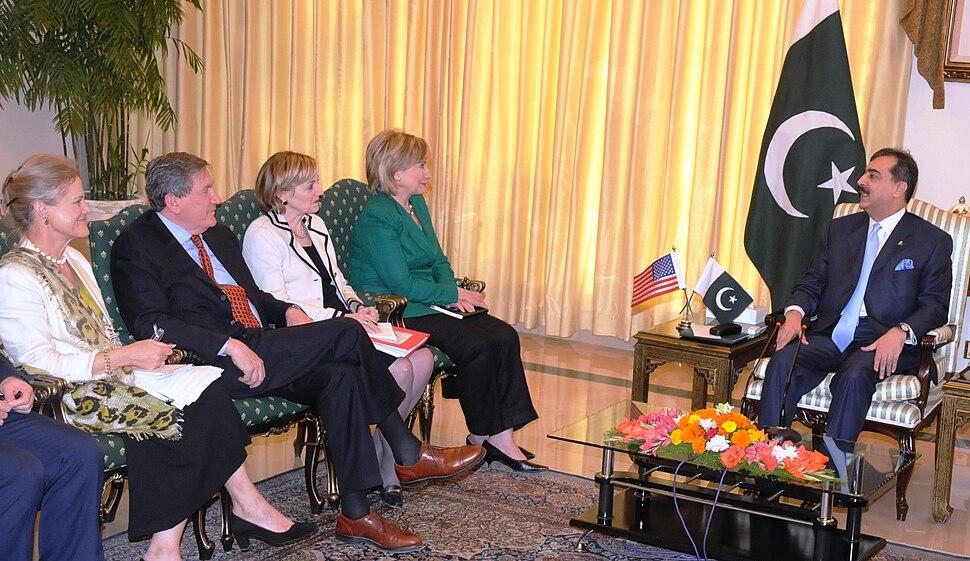 Hillary Rodham Clinton in Pakistan