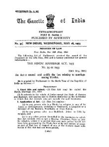 Hindu Marriage Act 1955.djvu