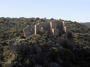 Hisarın Castle - From the east