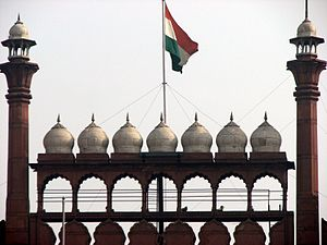 "the ""red fort"", new delhi, india."