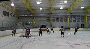 84 Lumber Arena - Image: Hockeyat Island Sports Center