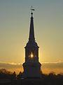 Holy Trinity Lutheran Church steeple at dawn, Lancaster, PA.jpg