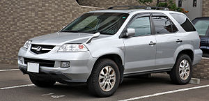 English: Honda MDX ( Japan spec )