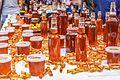 Honey in Saúde street weekend market, São Paulo, Brazil.jpg