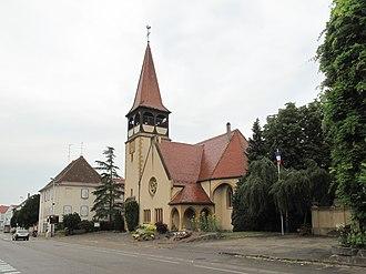 Horbourg-Wihr - Reformed church