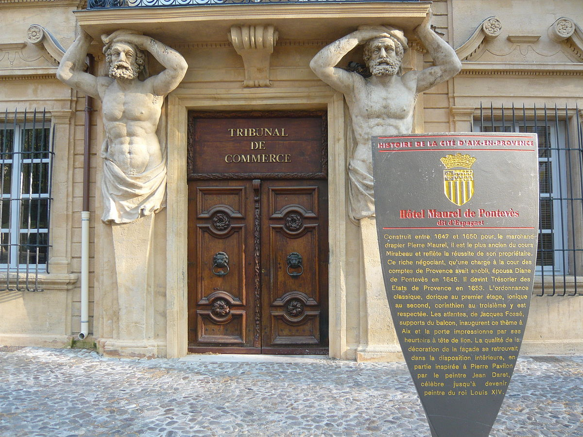 Pierre pavillon wikimedia commons - Tribunal de commerce salon de provence ...