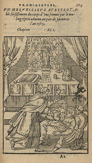 Pierre Boaistuau - Illustration from a 1575 edition of Histoires prodigieuses
