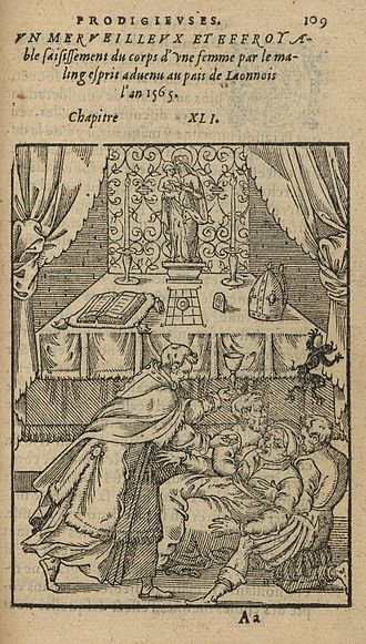 Pierre Boaistuau - Illustration from a 1575 edition of Histoires prodigieuses