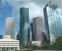Houston Skyline District Houston,Texas <br><img src=