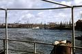 Howaldtswerke Hamburg-Steinwerder, Blick über den Kaiser-Wilhelm-Hafen in Richtung Michel - April 1957.png