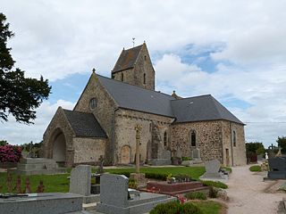Huberville Commune in Normandy, France