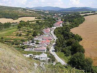 Hubina - Image: Hubina pohlad z vrchu Kostolec
