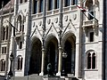 Hungarian Parliament, south, 2013 Budapest (383) (13227798434).jpg