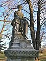 Hunt Family Monument at Cedar Hill Cemetery, Hartford, CT - January 2016.JPG