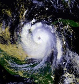 Hurricane Roxanne - Image: Hurricane Roxanne 10 oct 1995 1855Z