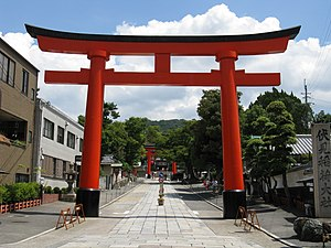 Sandō - The sandō at Fushimi Inari Taisha in Kyoto
