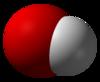 Spac-satiga reprezentado de la hidroksidjono