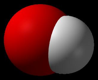 Hydroxide - Image: Hydroxide 3D vd W