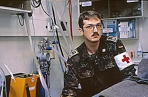 Joint Medical Service (Germany) - Medic during NATO Implementation Force (IFOR) in Croatia 1995
