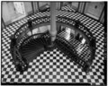 INTERIOR SECOND FLOOR ROTUNDA LOOKING SOUTHEAST FROM THIRD FLOOR - Louisana State Capitol, North Boulevard, Saint Philip, America and Front Streets, Baton Rouge, East Baton Rouge HABS LA,17-BATRO,6-15.tif