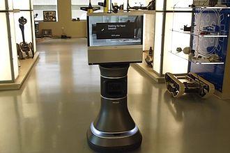 Telerobotics - iRobot Ava 500, an autonomous roaming telepresence robot.