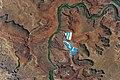 ISS-52 Solar Evaporation Ponds near Moab, Utah.jpg