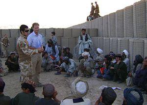 Iain King - Image: Iain King Helmand 2009