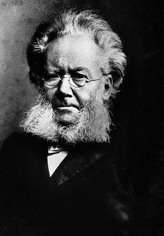 Ibsen Museum (Oslo) - Henrik Ibsen (1828-1906): photograph by Daniel Georg Nyblin