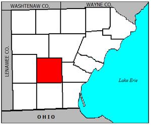 Ida Township, Michigan - Image: Ida Monroe MI
