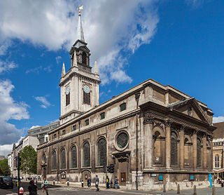 St Lawrence Jewry Church in London