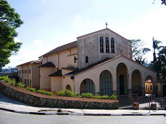 Ribeirão Pires - First church of Ribeirão Pires
