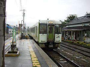 Iiyama Line - KiHa 110 series (Iiyama Station)