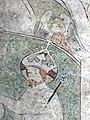 Im frühen 14. Jahrhundert schuf Rudolphus von Wimpfen die Fresken in der Marienkirche. Detail 2.jpg