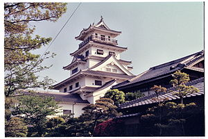 Imabari Domain - Imabari Castle, the seat of the domain
