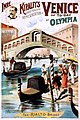 Imre Kiralfy's great realistic representation of Venice of to-day at Olympia, performing arts poster, 1891.jpg